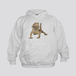 Bearded Dragon Photo Kids Hoodie