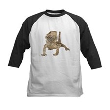 Bearded Dragon Photo Kids Baseball Jersey