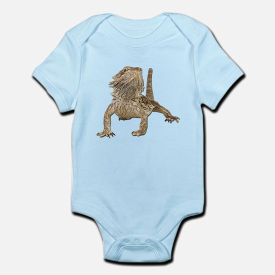 Bearded Dragon Photo Infant Bodysuit