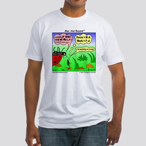 Ant and Ladybug Fitted T-Shirt