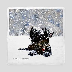 Scottish Terrier Christmas Queen Duvet