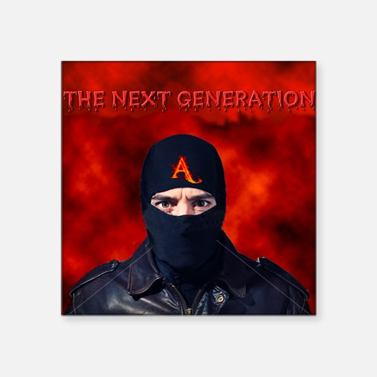 "Next Generation Square Sticker 3"" x 3"""