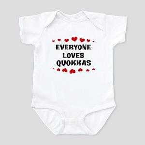Loves: Quokkas Infant Bodysuit