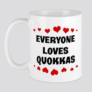 Loves: Quokkas Mug