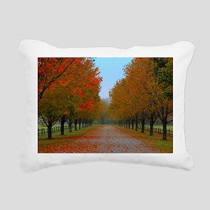 Dreamy Fall New England  Rectangular Canvas Pillow