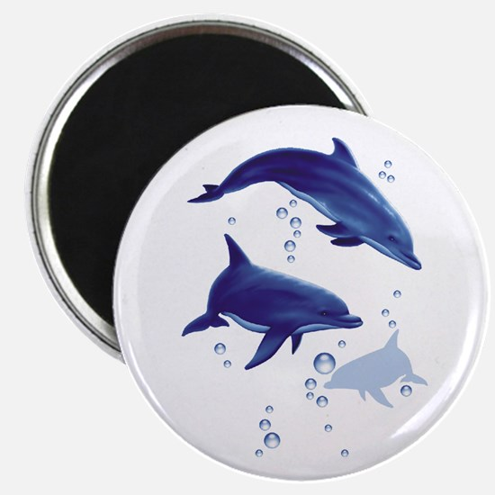 Blue dolphins Magnet