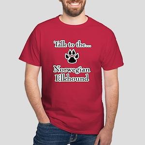 Elkhound Talk Dark T-Shirt