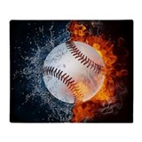 Baseball Fleece Blankets