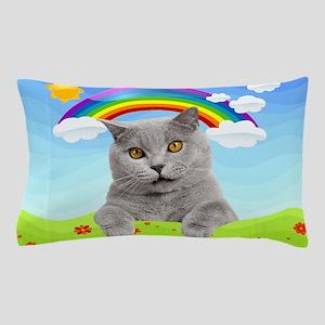 Rainbow Kitty Pillow Case