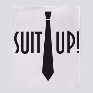 Suit Up! Throw Blanket