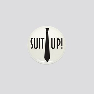 Suit Up! Mini Button