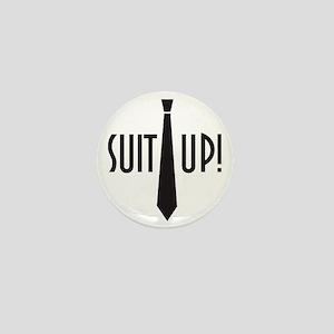 Suit Up! Mini Button