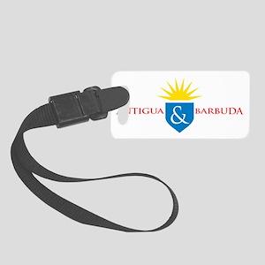 Antigua  Barbuda Small Luggage Tag