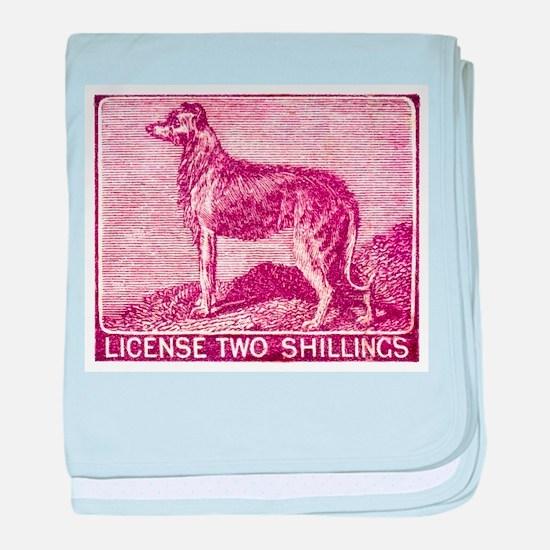 Antique 1904 Ireland Dog License Revenue Stamp bab