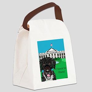 I barack for Obama! Canvas Lunch Bag