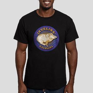 Javelina Gasolina Men's Fitted T-Shirt (dark)