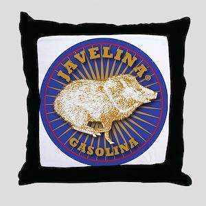 Javelina Gasolina Throw Pillow