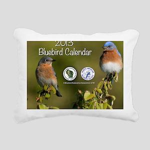2013 BRAW Calendar Rectangular Canvas Pillow