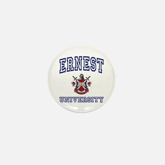 ERNEST University Mini Button