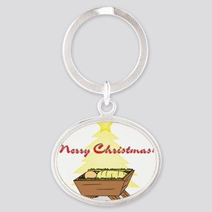 A Star is Born! Oval Keychain