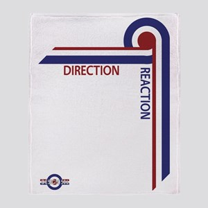 Direction Reaction designer mod Scoo Throw Blanket