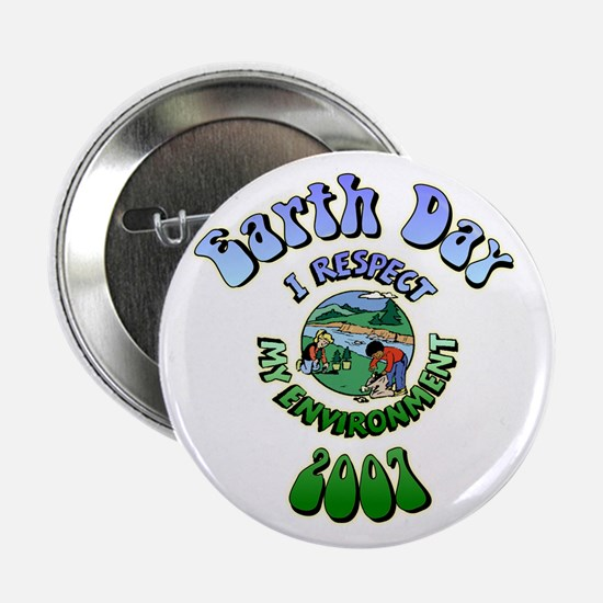 I Respect My Environment 2007 Button