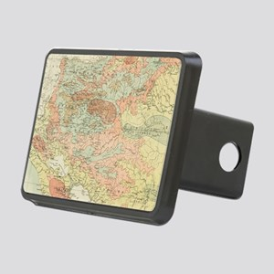 Vintage Map of Nicaragua ( Rectangular Hitch Cover