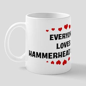 Loves: Hammerhead Sharks Mug