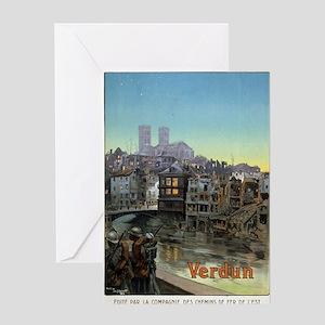 Verdun - Maurice Toussaint - 1919 - poster Greetin