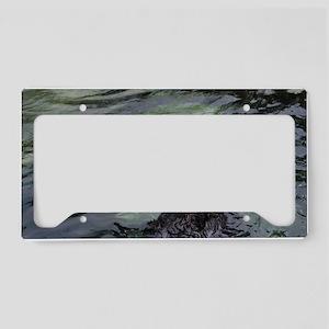 Sea Otter License Plate Holder
