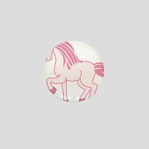 Pink Unicorn Mini Button
