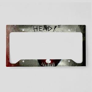 halloween License Plate Holder