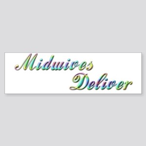 Deliver With This Bumper Sticker