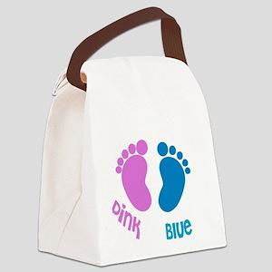 Peek-a-Boo Canvas Lunch Bag