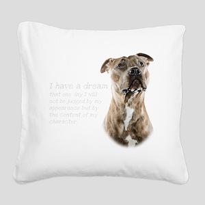 Dream Square Canvas Pillow