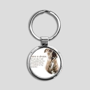 Dream Round Keychain