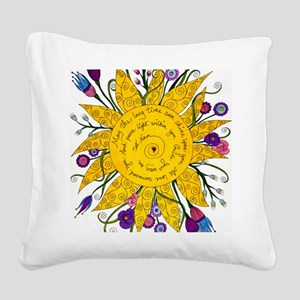 Sat Nam Square Canvas Pillow