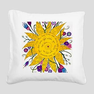 Sat Nam Square Canvas Pillow