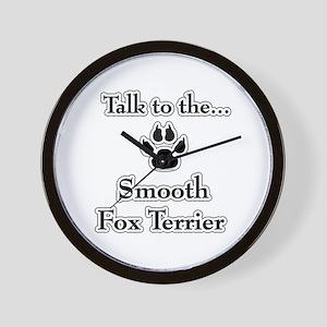 Smooth Fox Talk Wall Clock