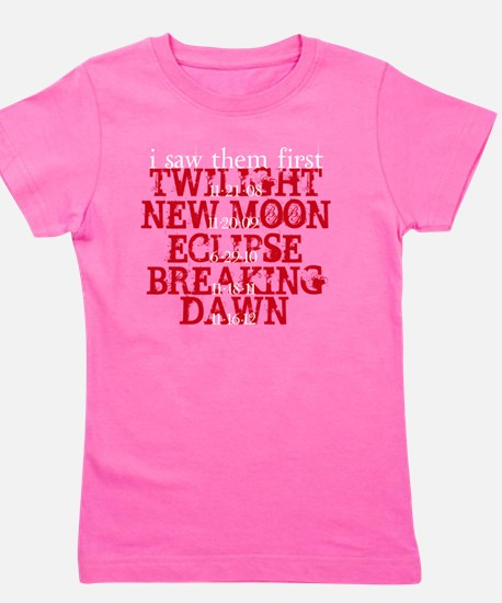 I Saw them first Movie Dates Girl's Tee