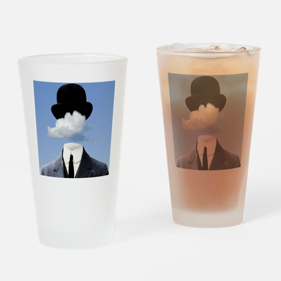 Head In The Clouds Drinking Glass