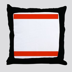 RUN SLU Throw Pillow