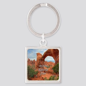 Arches National Park Square Keychain