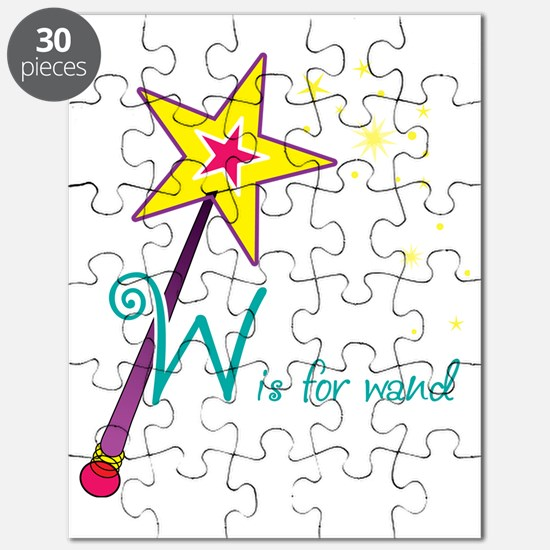 W is for Wand Puzzle