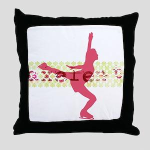 Axelent Skater Throw Pillow