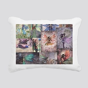 fairy all over t shirt Rectangular Canvas Pillow