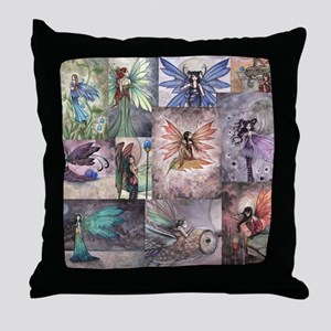 fairy all over t shirt Throw Pillow
