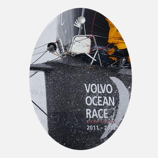 Volvo Ocean Race Oval Ornament