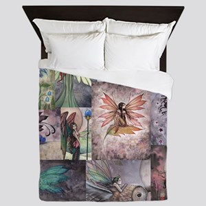 fairy all over t shirt Queen Duvet