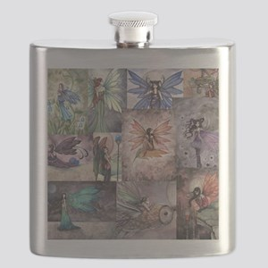 fairy all over t shirt Flask